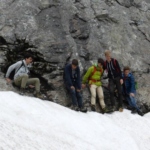 Zwischen Fels und Eis