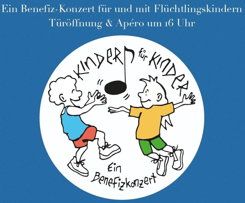 "Flyer ""Kinder singen für Kinder"""